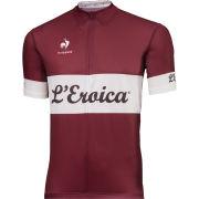 Le Coq Sportif Men's L'Eroica Performance Jersey - Burgundy
