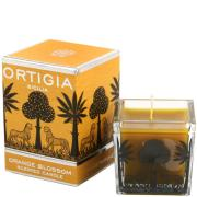 Orange Blossom Square Candle