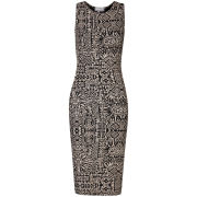 Club L Women's Inca Printed Midi Tube Dress - Stone