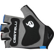 Garmin Sharp Team Replica Roubaix Gloves - Blue/White/Red 2014