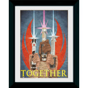 Star Wars Together - 30 x 40cm Collector Prints