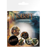 The Hobbit Desolation of Smaug Mix - Badge Pack