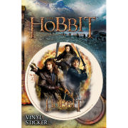 The Hobbit Desolation of Smaug Trio - Vinyl Sticker - 10 x 15cm