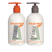 Fudge Daily Mint Shampoo and Conditioner Duo (500ml)