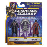Guardians of the Galaxy Star-Lord and Ronan Action Figures