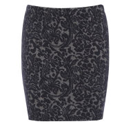 Damned Delux Women's Jacquard Mini Skirt