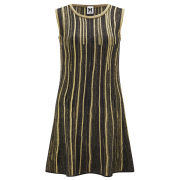 M Missoni Women's Knitted Flared Dress - Oro/Nero