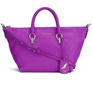 Diane von Furstenberg Women's Sutra Metro Duffle Leather Bag - Pink