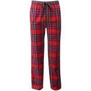 Bjorn Borg Men's Technical Check Loungepants - True Red