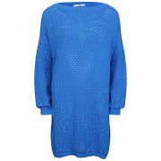 D.EFECT Women's Aleta Sweater - Blue