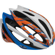 Bell Gage Cycling Helmet White/Orange/Blue