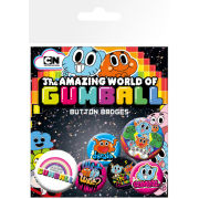 Gumball Characters - Badge Pack