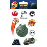 Angry Birds Star Wars Falcon (Shimmer) - Shimmer Sticker Pack