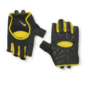 Nike Men's Lightweight Cycling Gloves - Black/Flint Grey/Varsity Maize
