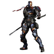 Square Enix DC Comics Batman Arkham Origins - Deathstroke - Play Arts Figure
