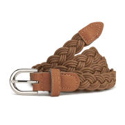 Impulse Women's Plaited Belt - Brown