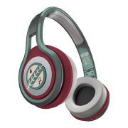 SMS Audio by 50 Cent Street Wired Headphones Includes Passive Noise Cancellation - Star Wars Edition - Boba Fett - Green/Brown