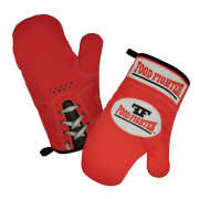 Food Fighter Oven Gloves