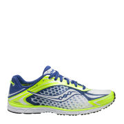 Saucony Men's Type A5 Running Shoe - Citron/Blue/White