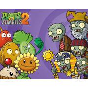 Plants V Zombies 2 Cast - Mini Poster - 40 x 50cm