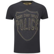 883 Police Men's Eskimo Graphic T-Shirt - Black