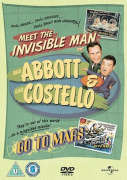 Abbott and Costello: Meet the Invisible Man / Go to Mars