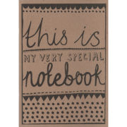 Katie Leamon Very Special Notebook