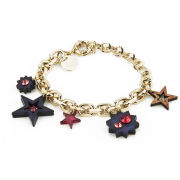 Matthew Williamson Holographic Star Charm Bracelet - Midnight