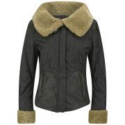 Matchless Women's Sheffield Blouson Jacket - Grey - 40 EU 40/UK 8 Grey