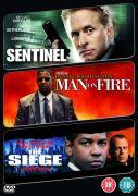 Sentinel/ Man On Fire/ Siege