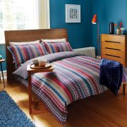 Harlequin Array Stripe Duvet Cover - Multi