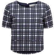 Finders Keepers Women's Daydreamer Top - Tartan Print