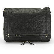 Jerome Dreyfuss Albert Leather Shoulder Bag - Black