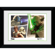 Star Wars Yoda Montage - 30 x 40cm Collector Prints