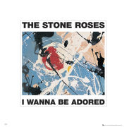The Stone Roses Adored - 40 x 40cm Print