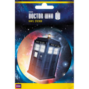 Doctor Who The Tardis - Vinyl Sticker - 10 x 15cm