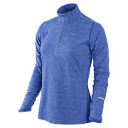 Nike Women's Half Zip Element Top - Cobalt Blue
