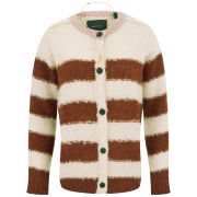 Maison Scotch Women's Boucle Knitted Cardigan - Cream