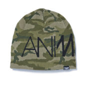 Animal Men's Addanna Knitted Beanie - Camo