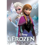 Disney Frozen Anna and Elsa - Metallic Poster - 47 x 67cm
