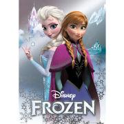 Disney Frozen Anna and Elsa - Metallic Poster - 47 x 67cm
