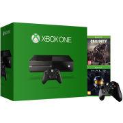 Xbox One Console - Includes Halo: Masterchief Edition + Call of Duty: Advanced Warfare Day Zero + Extra Wireless Controller