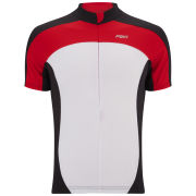 PBK Heritage Rouen Short Sleeve Jersey - White/Red/Black