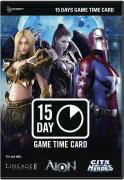 NCSoft 15 Day Time Card