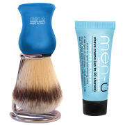 men-u Premier Shaving Brush & Stand - Blue