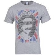 Joystick Junkies Men's God Save The Code T-Shirt - Grey