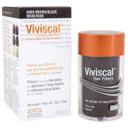 Viviscal Volumising Hair Fibres - Dark Brown/Black (15g)