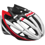 Bell Gage Cycling Helmet Red/White