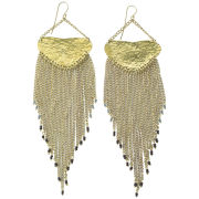Made by Daisy Knights Gimanu Drop Earrings - Gold