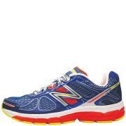 New Balance Men's NBX M870 V3 Light Stability Running Shoes - White/Blue